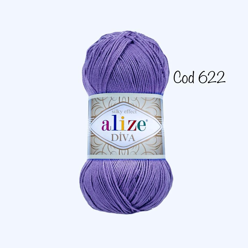 Alize Diva Silk Efect Cod 622-0