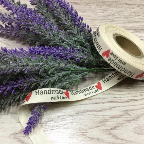 """Etichete cu înscris """"Handmade""""-0"""