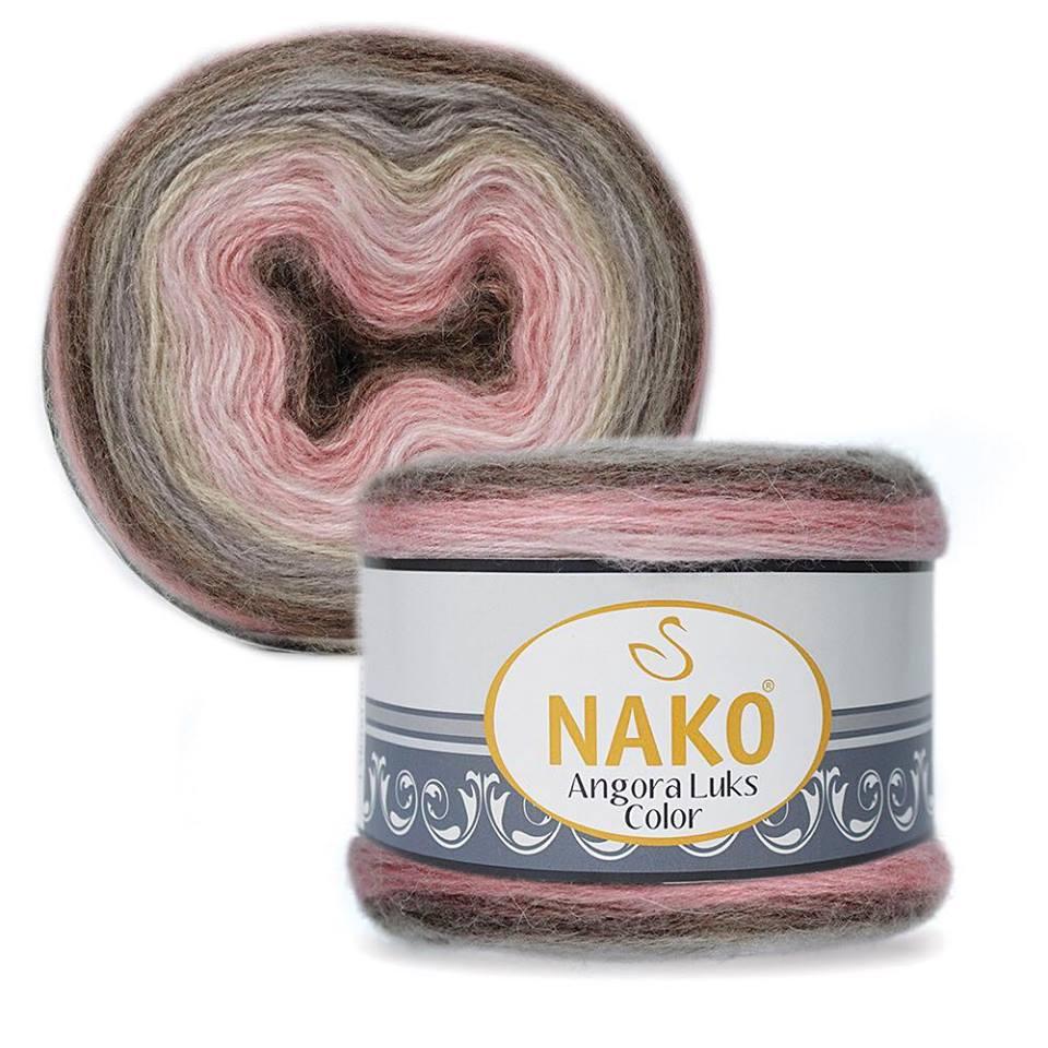 Nako Angora Luks Color COD 81911-0
