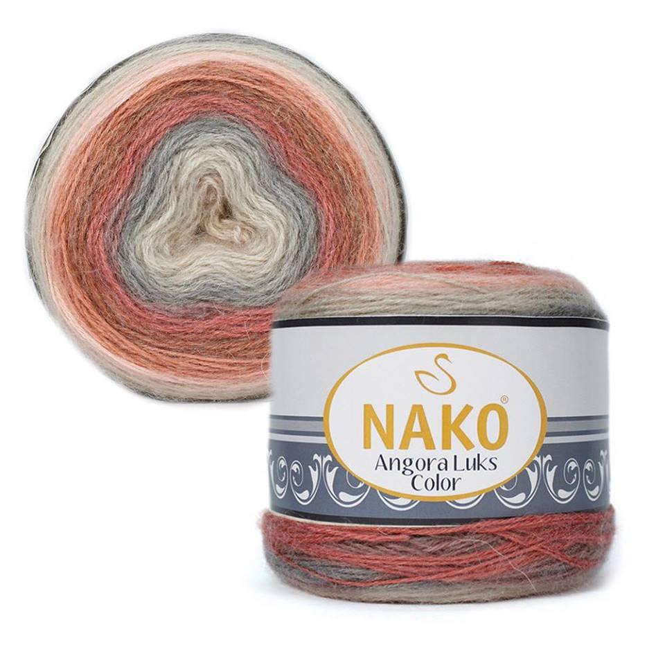 Nako Angora Luks Color Cod 81913-0