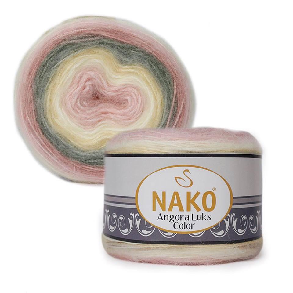 Nako Angora Luks Color Cod 81904-0