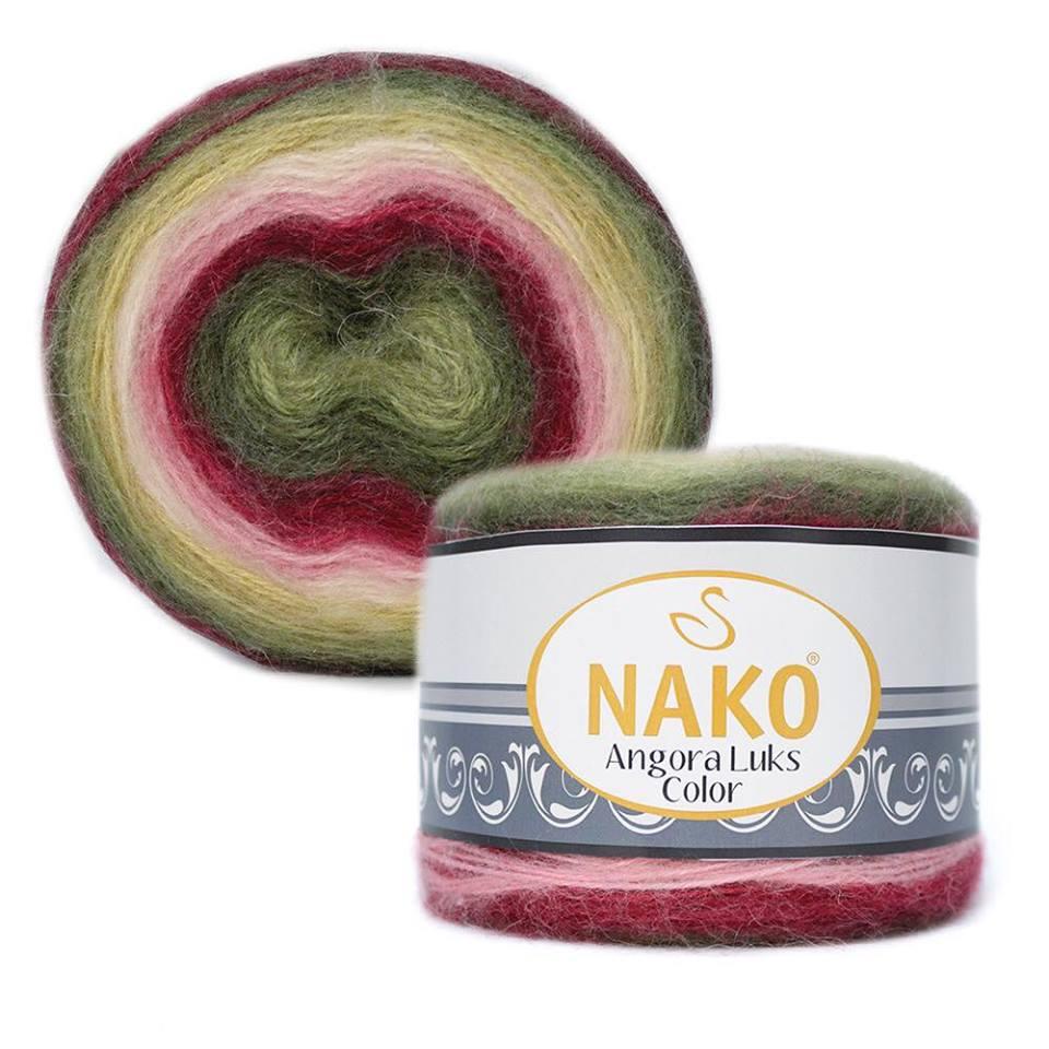 Nako Angora Luks Color Cod 81909-0
