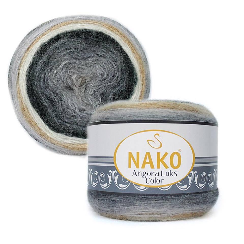 Nako Angora Luks Color Cod 81914-0