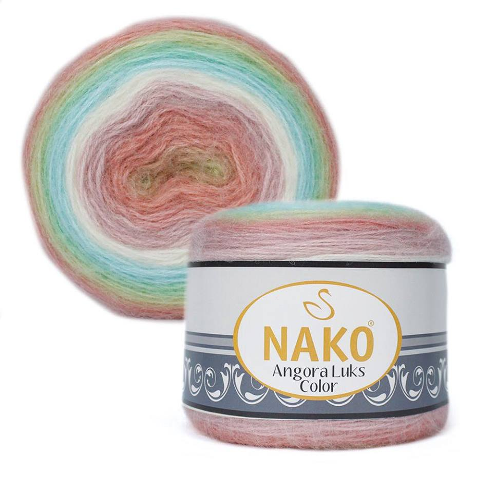 Nako Angora Luks Color Cod 81919-0