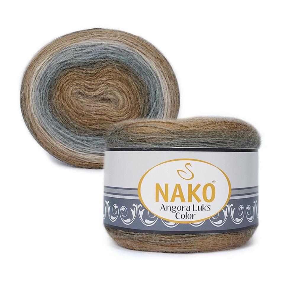 Nako Angora Luks Color Cod 81907-0