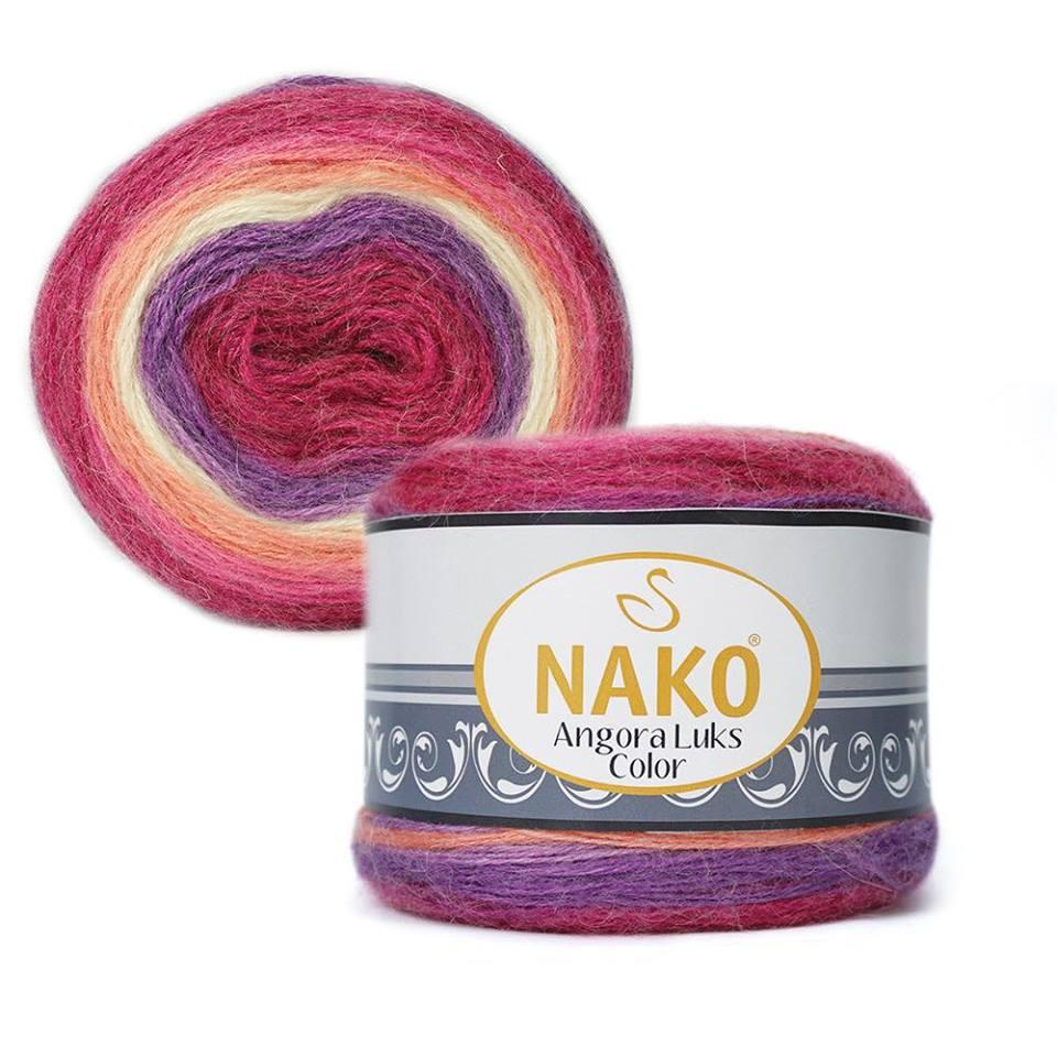 Nako Angora Luks Color COD 81917-0