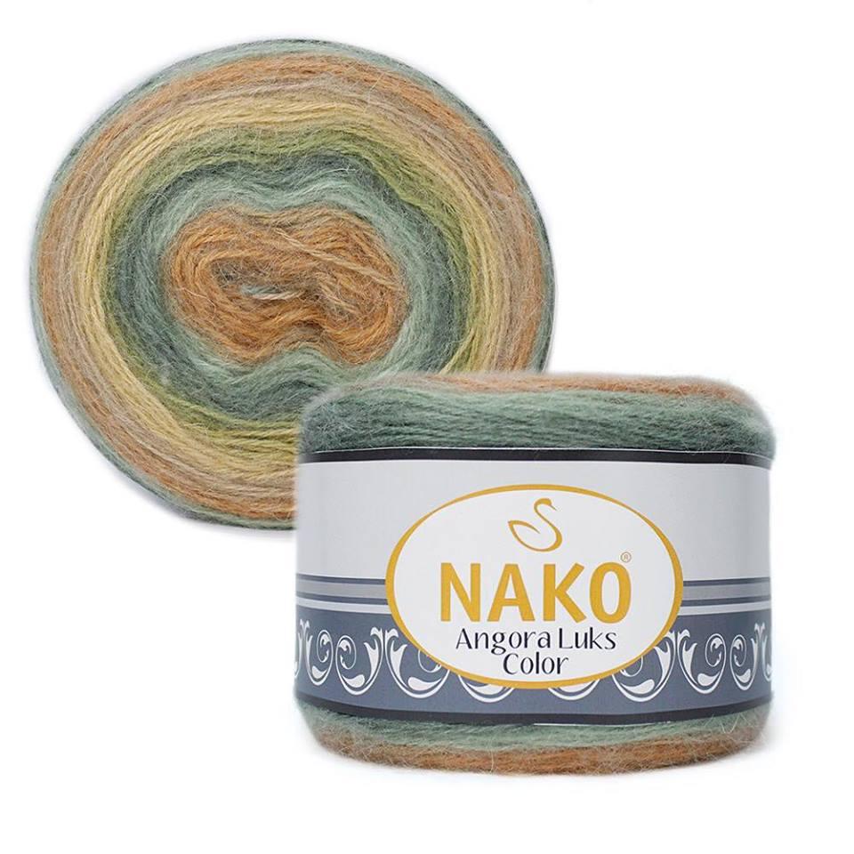 Nako Angora Luks Color Cod 81912-0
