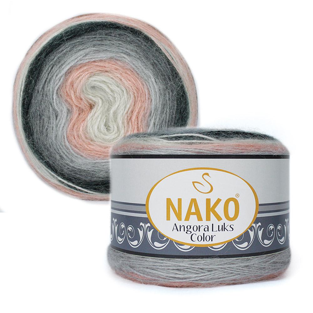 Nako Angora Luks Color Cod 81916-0
