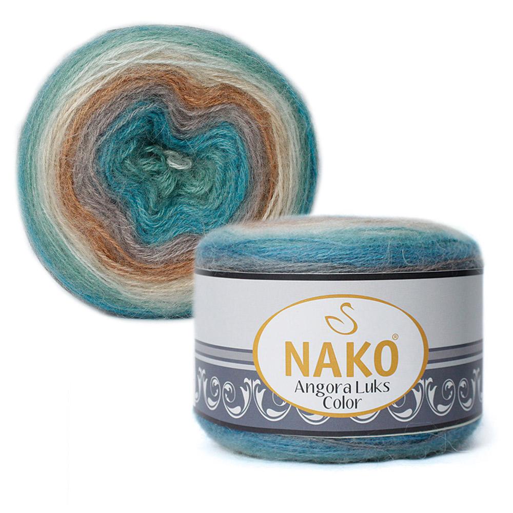 Nako Angora Luks Color Cod 81906-0