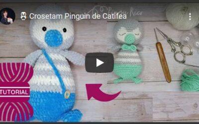 Cum croșetăm un pinguin de catifea